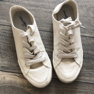 Used Canvas Sneakers